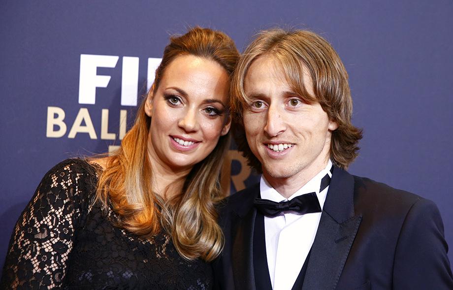 Жена Луки Модрича - фото, как зовут, дети