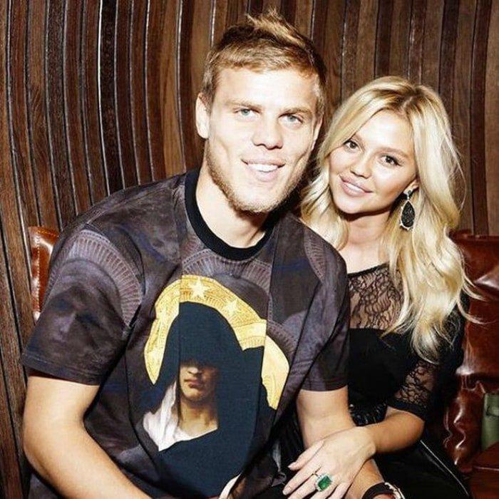 Жена Александра Кокорина - фото, биография, дети футболиста
