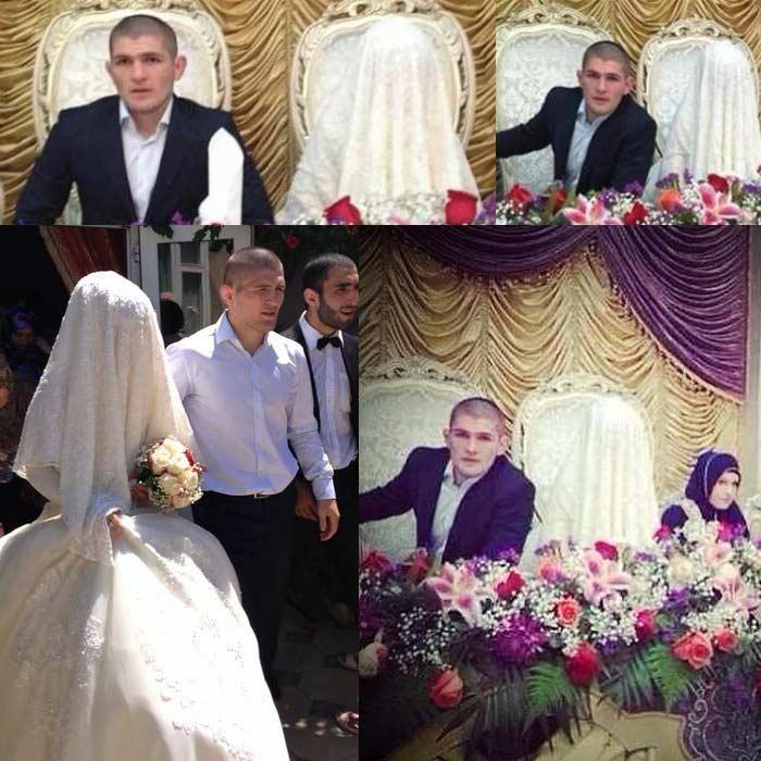 Жена Хабиба Нурмагомедова - фото, свадьба, семья, дети