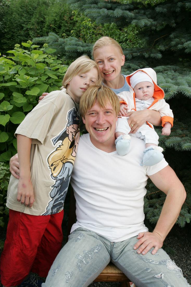 Жена Алексея Кравченко - фото, личная жизнь, дети