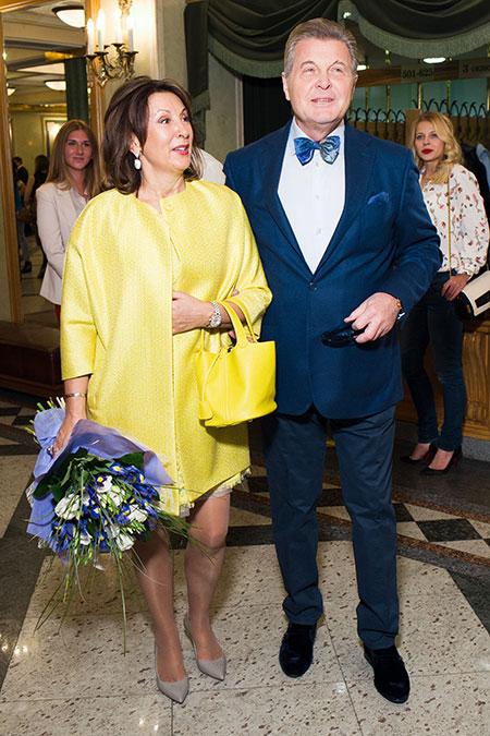 Жена Льва Лещенко - фото, биография, личная жизнь, семья