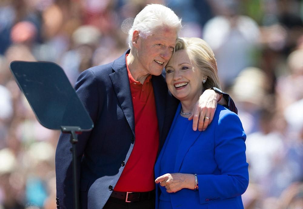 Билл Клинтон и его жена Хиллари Клинтон - фото, биография, личная жизнь