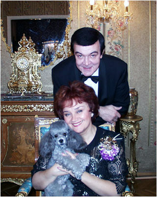 Жена Муслима Магомаева - фото, биография, личная жизнь, дети