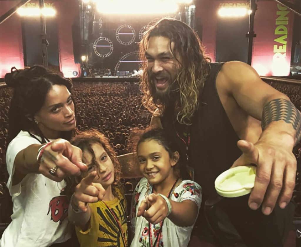 Джейсон Момоа с женой и детьми - фото, личная жизнь, биография