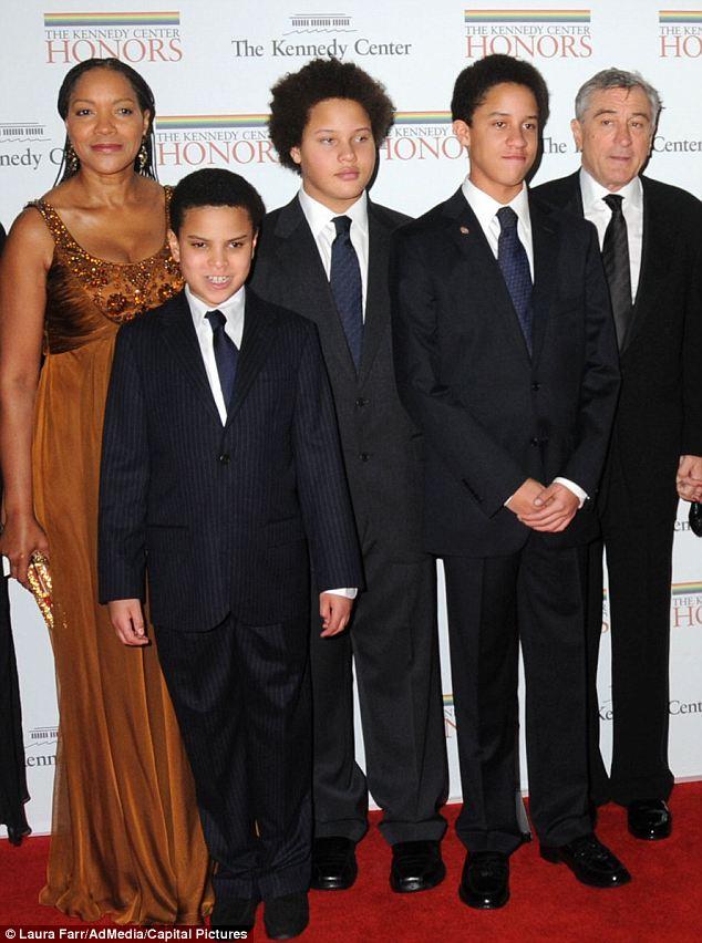 Жена Роберта Де Ниро- фото всех жен, дети