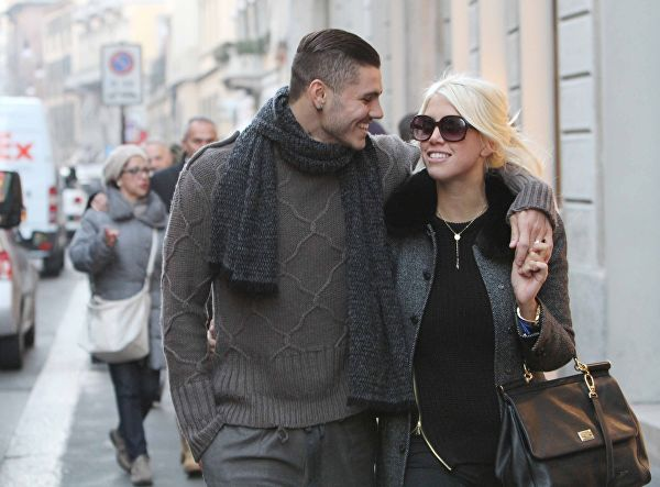 Жена Мауро Икарди - фото, личная жизнь футболиста