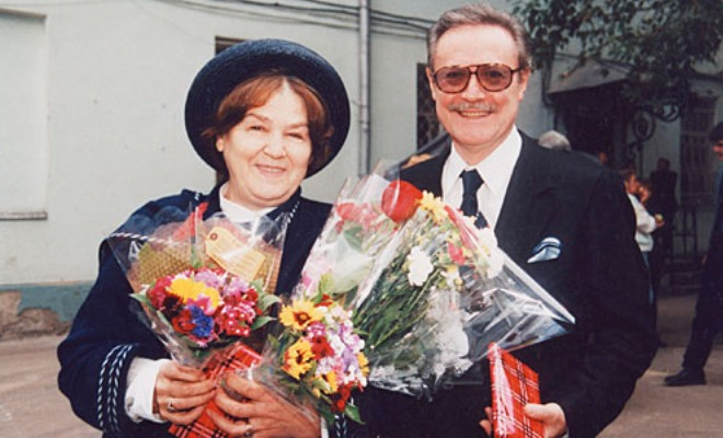 Жена Юрия Соломина - фото, биография, дети