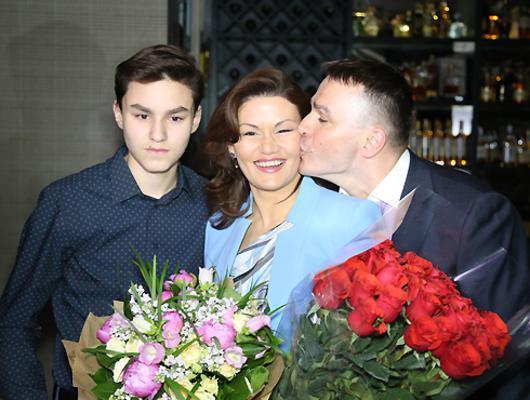 Жена Кирилла Андреева - фото, биография, сын