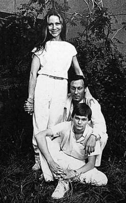 Жена Филиппа Янковского - фото, дети