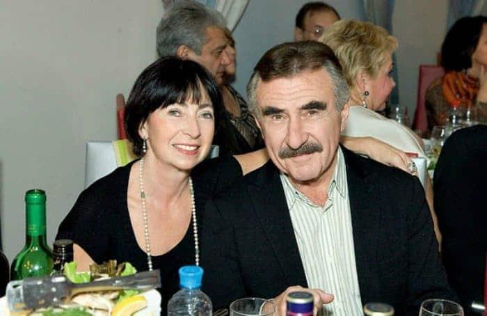 Жена Леонида Каневского - фото, личная жизнь