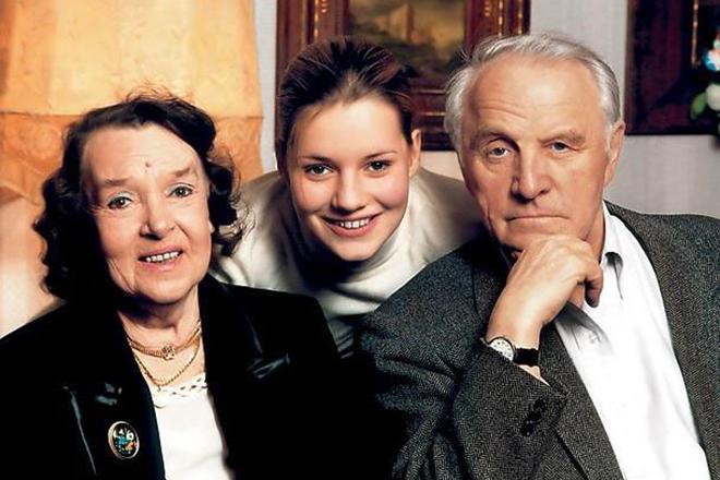 Жена Михаила Ульянова - фото, личная жизнь