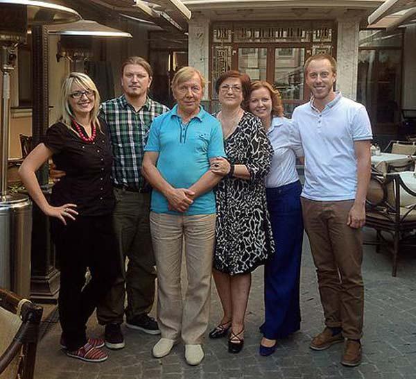 Жена Юрия Чернова - фото, личная жизнь