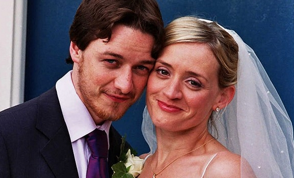 Жена Джеймса Макэвоя - фото, личная жизнь