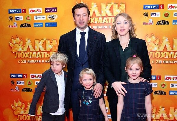 Жена Андрея Мерзликина - личная жизнь