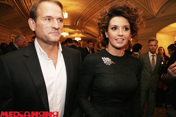 Жена Виктора Медведчука - личная жизнь
