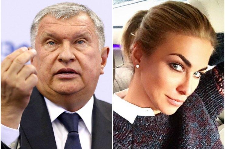 Жена Игоря Сечина - личная жизнь