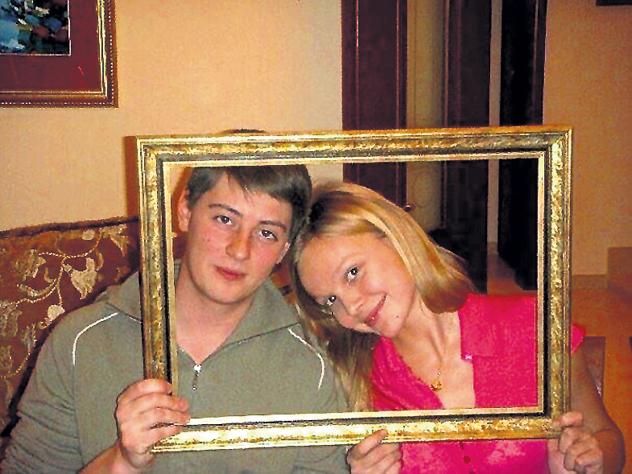 Елена Великанова с мужем