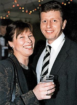 Михаил Ширвиндт с женой