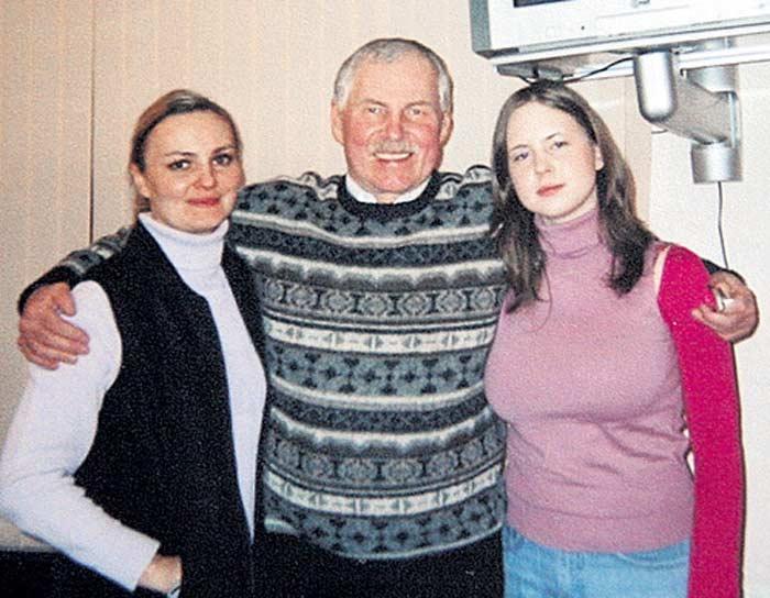 Жена Владимира Гостюхина