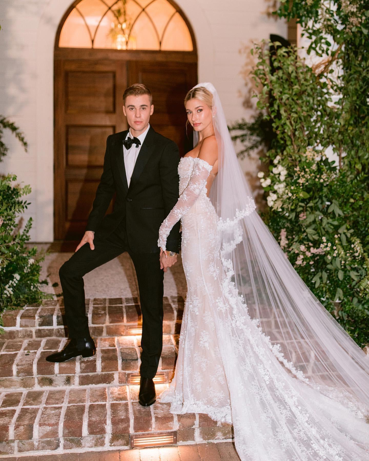 7 стильных свадеб звезд года