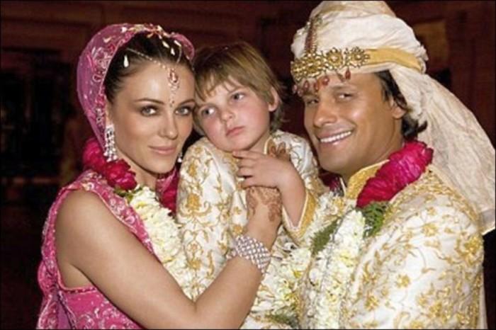 5 разных свадебных «фишек» знаменитостей