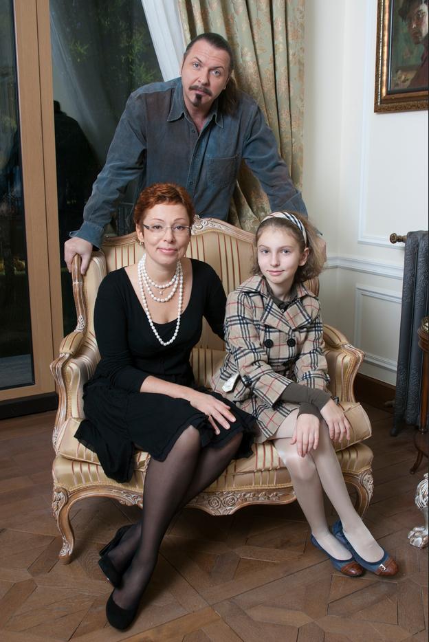 Жена Юрия Грымова