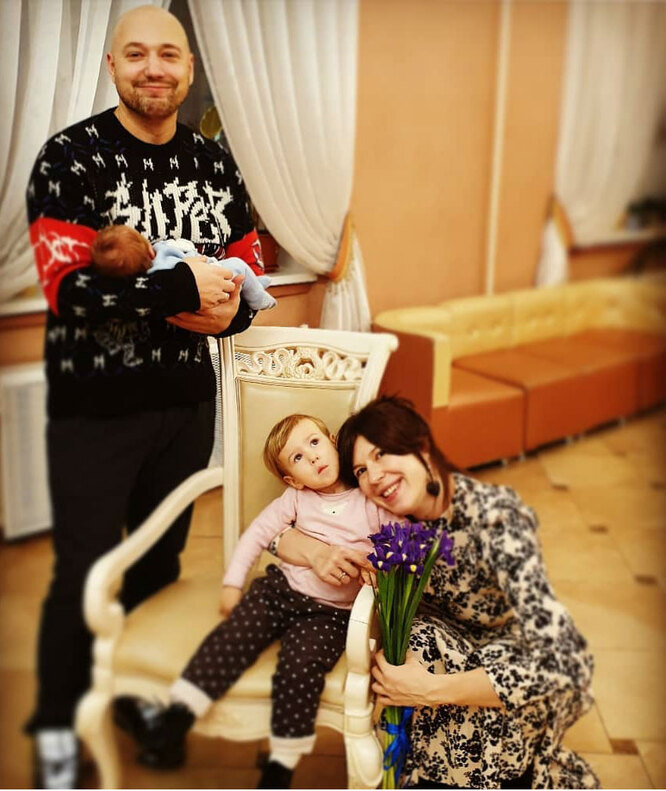 Жена Владимира Маркони