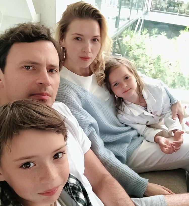 Жена Максима Маринина