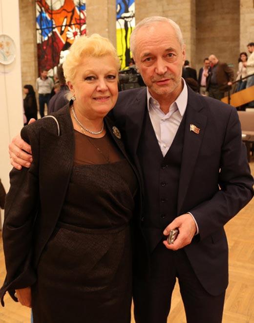 Жена Евгения Герасимова